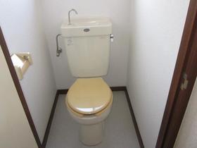 デュークハイツクロガネ 201号室のトイレ