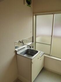 コーポ中川B 201号室のキッチン