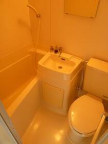コーポ中川B 201号室の風呂