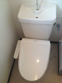リブ 302号室のトイレ