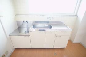 銀星ハイツA棟 102号室のキッチン