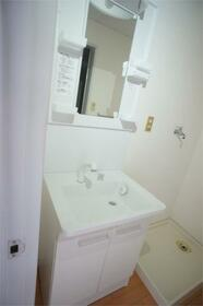銀星ハイツA棟 102号室の洗面所