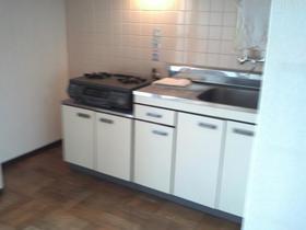 シルバープラザビル 504号室のキッチン
