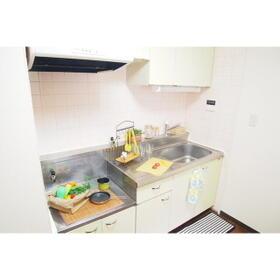 オルヒデアⅡ 203号室のキッチン