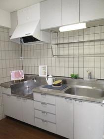 アスティーロイヤル 403号室のキッチン