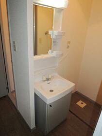 サンビレッジ杉崎 C 203号室の洗面所