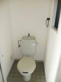 サンビレッジ杉崎 C 203号室のトイレ
