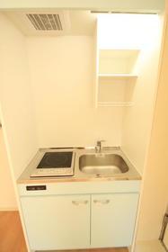 アビタシオンM堀ノ内 C棟 202号室のキッチン
