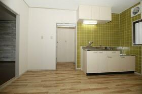 波奈コーポ 202号室のキッチン