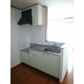 ウィステリア ハイツ 102号室のキッチン