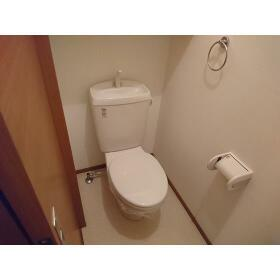 ウィステリア ハイツ 102号室のトイレ