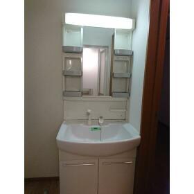 ウィステリア ハイツ 102号室の洗面所