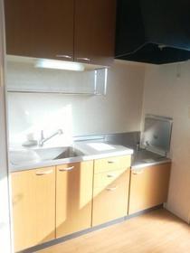 プルミエ徳聖 D 102号室のキッチン