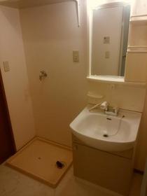 プルミエ徳聖 D 102号室の洗面所