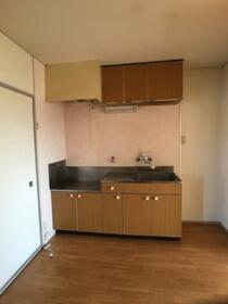 ドリームハイツ澤 2号棟 206号室のキッチン