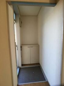 ドリームハイツ澤 2号棟 206号室の玄関