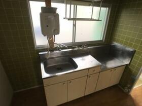 ドリームハイツ澤 3号棟 303号室のキッチン
