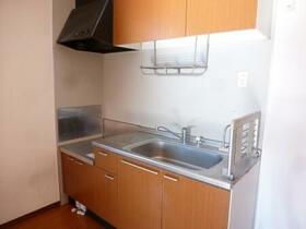 ディアコート 201号室のキッチン