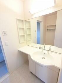 ボヌール 105号室の洗面所
