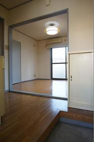 KMハイム 101号室の玄関