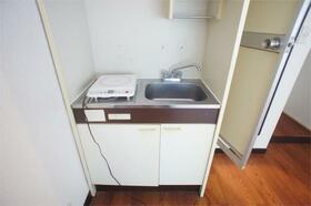 パークタウン安中IV 612号室のキッチン