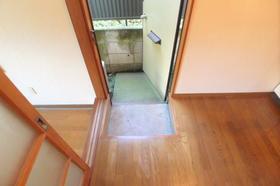 スターハイツ 202号室の玄関