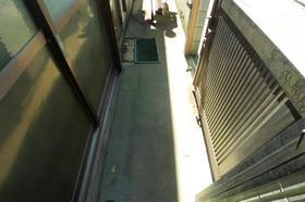 スターハイツ 202号室のバルコニー