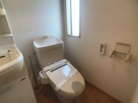 フレックスインターパーク Bのトイレ