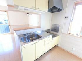フォレスト・コート B/C C202号室のキッチン