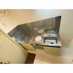 清水ハイツ 102号室の洗面所