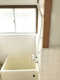 犬伏上町貸家の風呂