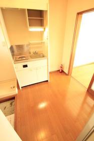 マツミコーポ 202号室のキッチン