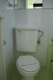 グリーントップ 102号室のトイレ