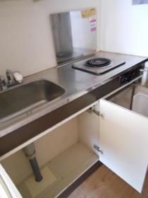 小川ビル 505 505号室のキッチン