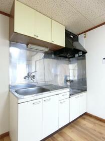 コーポプラント 002C号室のキッチン