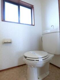 コーポプラント 002C号室のトイレ