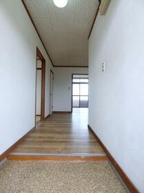 コーポプラント 002C号室の玄関