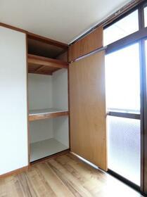コーポプラント 002C号室の収納