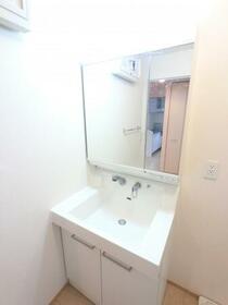 Sereno B 202号室の洗面所