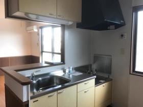 セジュールKIYO B 202号室のキッチン