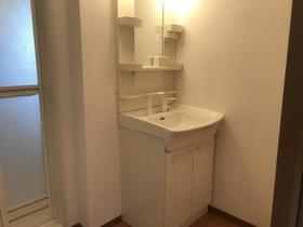 セジュールKIYO B 202号室の洗面所