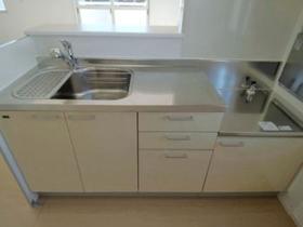 サンファースト C 202号室のキッチン