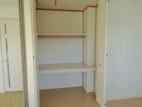 サンファースト C 202号室の収納