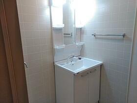 フラワーレジデンス森田 八番館 201号室の洗面所