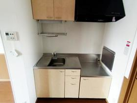 ウインドワードガーデンズ D 105号室のキッチン
