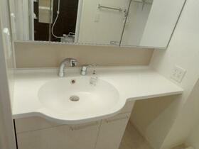 グランプレジール C 201号室の洗面所