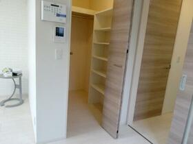 グランプレジール C 201号室の収納