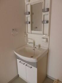 シャトレイン宿 102号室の洗面所
