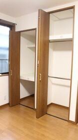 KHアパート 1F号室の収納