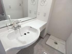 アネシス城北 B 302号室の洗面所